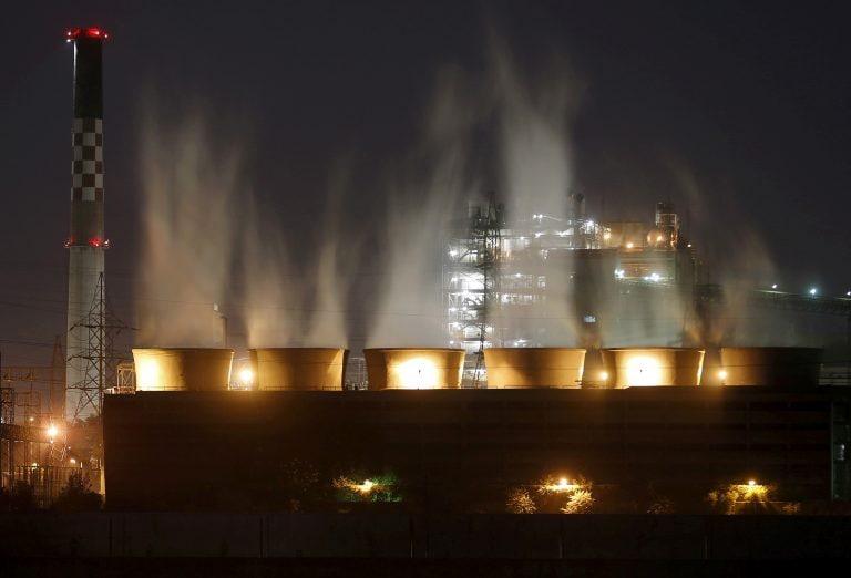 中央污染管制委员会威胁要关闭14个燃煤电厂