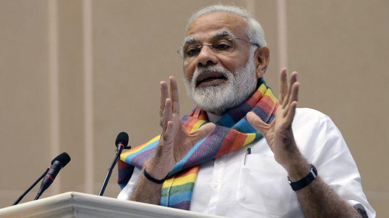 PM Modi说,在印度比一瓶冷饮更便宜1英镑的数据